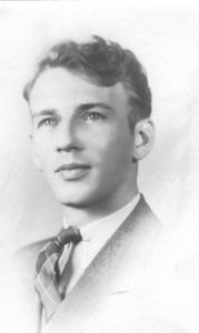 Clifford as a young man